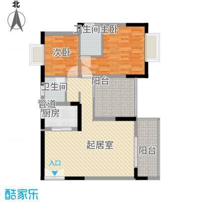 东津名座东津名座(3栋E)3室户型3室
