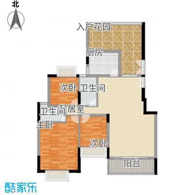 东津名座东津名座(3栋A/B)3室户型3室