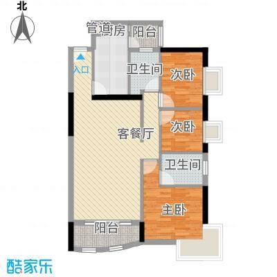 中港城103.62㎡深圳中港城户型图7户型10室