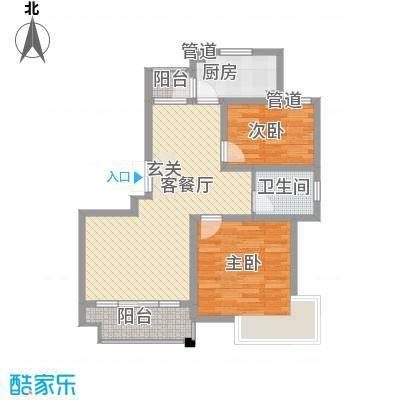 徐汇新干线92.00㎡上海徐汇新干线(明丰新纪苑)二期户型10室