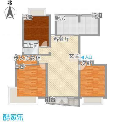 昌鑫协和园144.00㎡昌鑫协和园3室户型3室