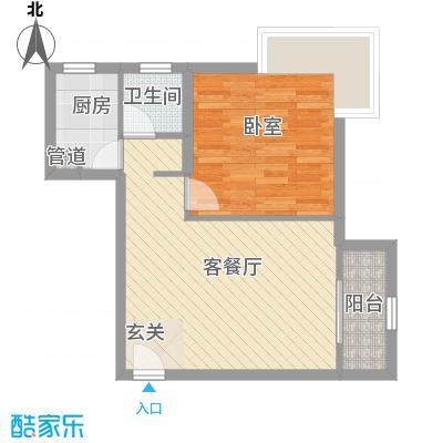 金沙丽晶苑二期60.00㎡上海金沙丽晶苑二期户型10室