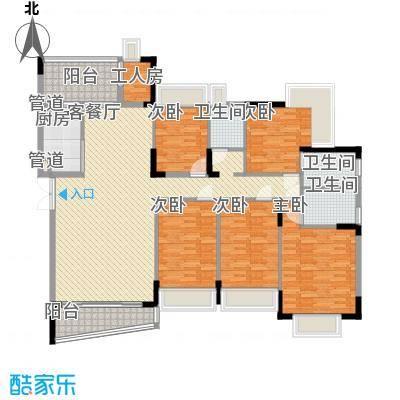 深圳 宏发雍景城 户型图7