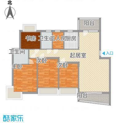 宏发雍景城深圳宏发雍景城户型图4户型10室
