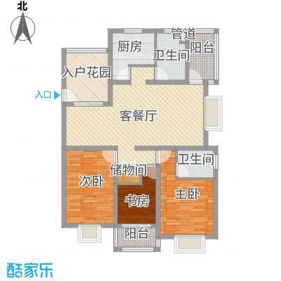 华亭荣园130.00㎡华亭荣园户型图户型图3室2厅2卫户型3室2厅2卫