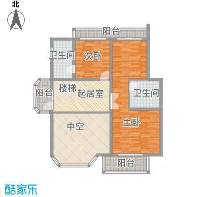 复地翠堤苑110.00㎡复地翠堤苑公寓2室户型2室