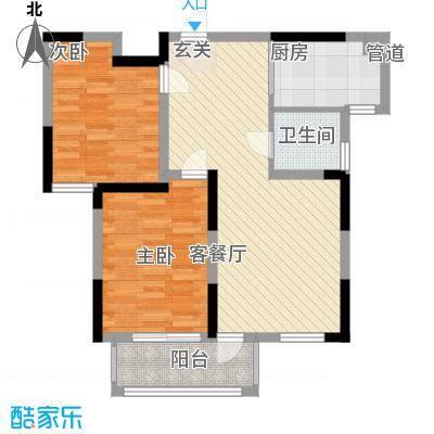 上海 建德花园百合苑 户型图