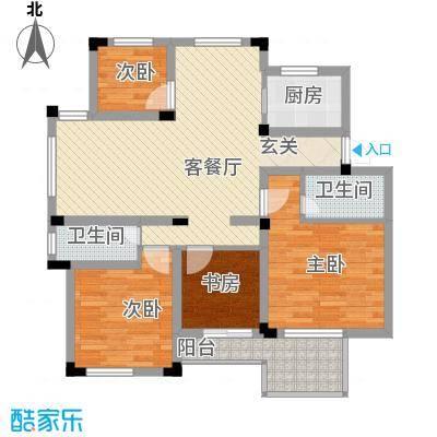万峰小区二期 3室 户型图