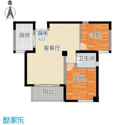 万峰小区二期 2室 户型图