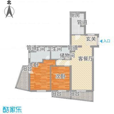 绿地豪生酒店式公寓97.00㎡绿地豪生酒店式公寓2室户型2室