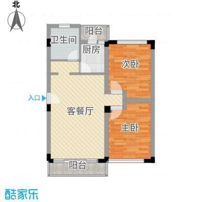 景福花园景福花园户型图户型图2室2厅1卫1厨户型2室2厅1卫1厨