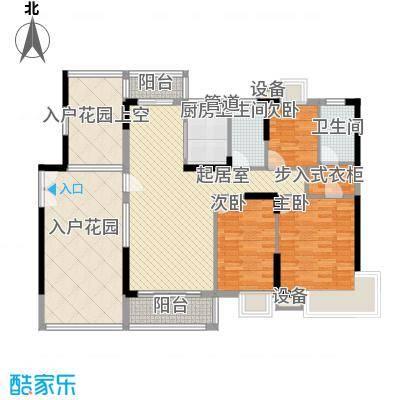 宏发雍景城 0室 户型图