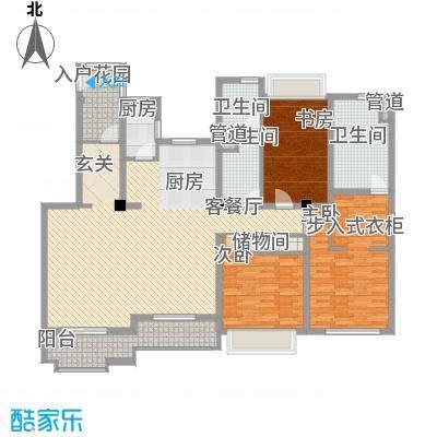 万科琥珀臻园157.00㎡万科琥珀臻园户型图B户型3室2厅2卫2厨户型3室2厅2卫2厨
