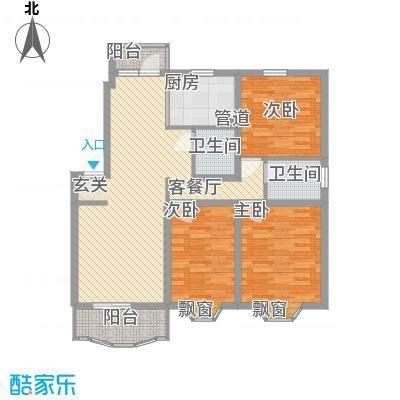 上大阳光乾泽园115.09㎡上大阳光乾泽园户型图上海上大阳光―乾泽园二期户型图3室2厅2卫1厨户型3室2厅2卫1厨