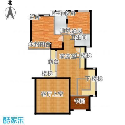 富力湾・半岛别墅136.29㎡G2二层户型10室