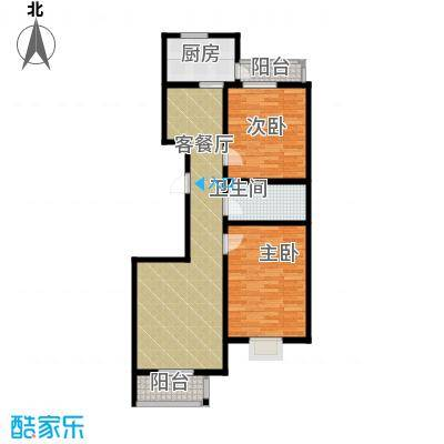 天一海馨园82.37㎡-户型10室