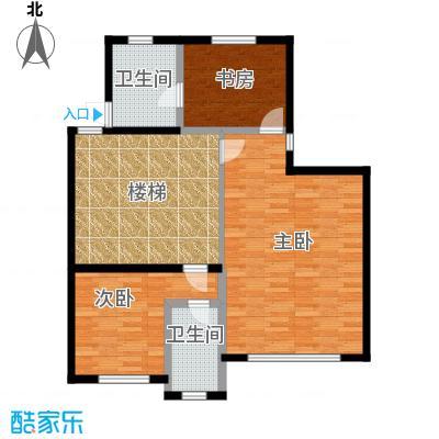 莱蒙国际公馆89.95㎡G180-120130-1二层户型10室