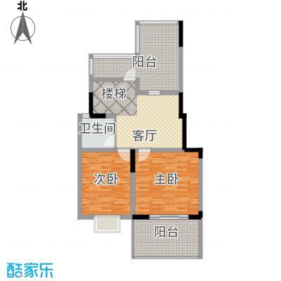 中航瑞祥花园180.18㎡复式A1二层户型3室3厅2卫