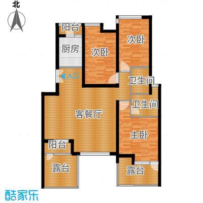 景瑞阳光尚城120.00㎡A3户型10室