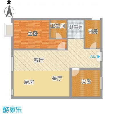 官邸3号129.49㎡d(售罄)户型10室