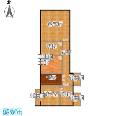 财富城堡103.00㎡b1-9地下二层平面图户型10室