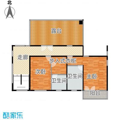 时光墅116.19㎡C四层平面图户型10室