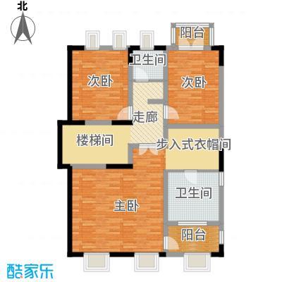 艾维诺森林111.49㎡独栋G二层户型4室2卫