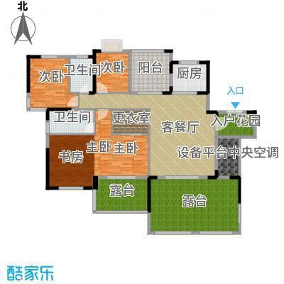 人信太子湾145.00㎡G1-03户型3室1厅2卫1厨