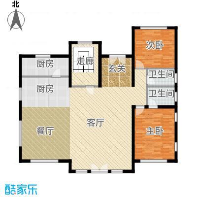 天恒・半山世家174.29㎡E首层平面图户型8室4厅4卫