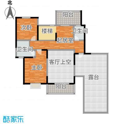 中航瑞祥花园224.18㎡复式B4二层户型10室