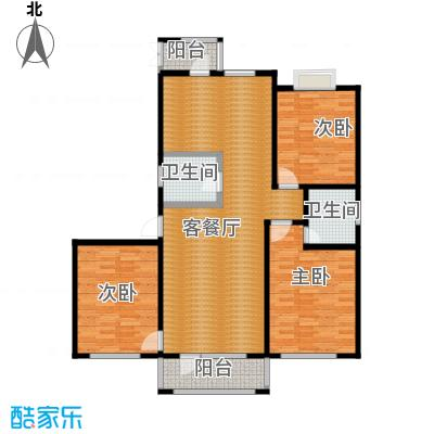 新发翡翠花溪112.47㎡户型10室