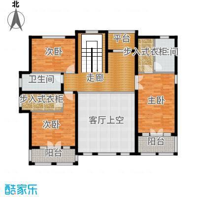 天恒・半山世家115.41㎡M二层平面图户型9室2厅6卫