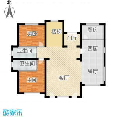 天恒・半山世家150.28㎡M首层平面图户型9室2厅6卫