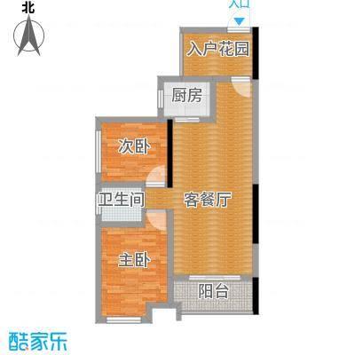 曲江圣卡纳91.00㎡2010年5月19日从售楼部了解到目前在售A/B户型2室1厅1卫1厨