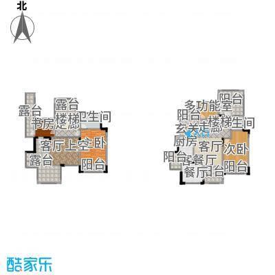 中国铁建山水时光253.56㎡洋房A7户型3室1厅2卫1厨
