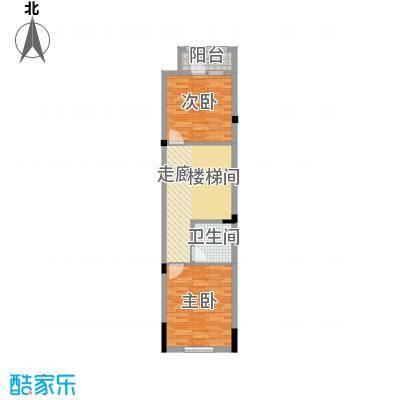 中惠团泊湾375.00㎡C1二层平面图户型10室