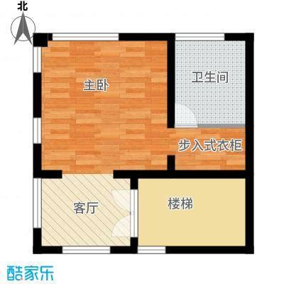 恒盛尚海湾滨海46.55㎡北区C2三层户型10室