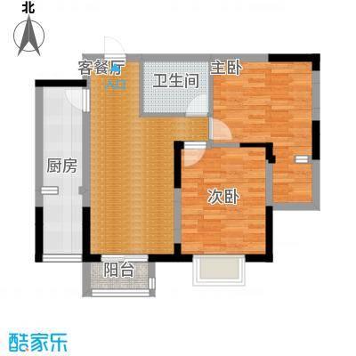 香港城68.76㎡户型10室