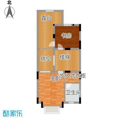 隆鑫72府166.21㎡B1三层户型2室1卫