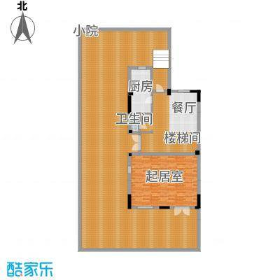 中惠团泊湾273.00㎡A花园层平面图户型10室