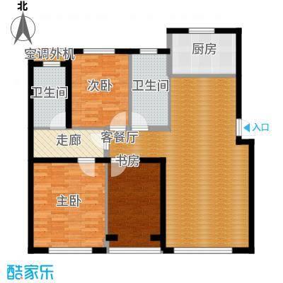 亚联翡翠春城120.00㎡约户型10室
