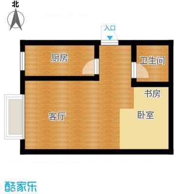 百花家园52.02㎡5#4户型10室