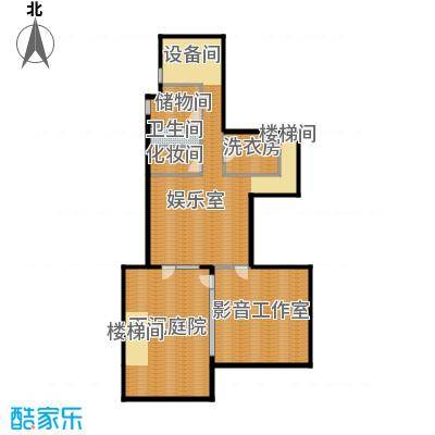富力湾・半岛别墅139.79㎡F1地下一层户型10室