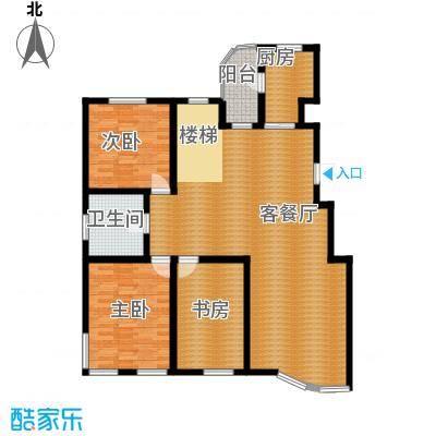 蓝筹海235.00㎡Y1一层户型10室