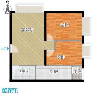 北京华贸城88.13㎡13#14#R03-02户型10室