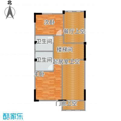 中惠团泊湾273.00㎡A二层平面图户型10室