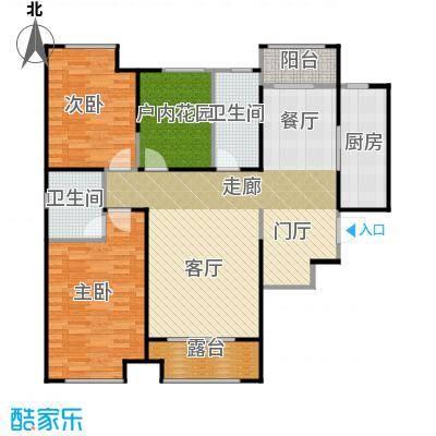 曲江千林郡130.54㎡在售B341米客厅16米露台宽景飘窗户型3室2厅2卫
