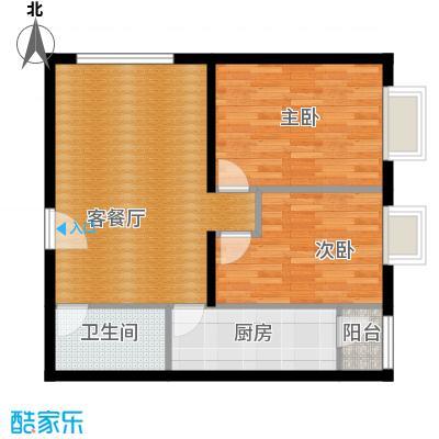 北京华贸城88.00㎡13、14号楼R-03户型10室