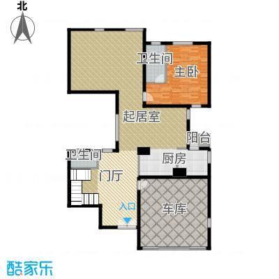 富力湾・半岛别墅178.98㎡D2一层户型10室