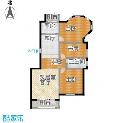 新发翡翠花溪118.04㎡户型10室